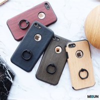Wooden Ring Case Case iRing Soft Case for iphone 5 5s SE 6 6s 6