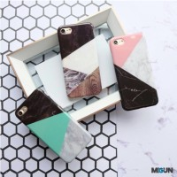 Triangle Marble Case Full Cover iPhone 5 5s SE 6 6s 6 6s 7 7