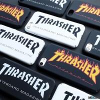 THRASHER hardcase full cover doff for iPhone 5 5s SE 6 6s 6 6s 7