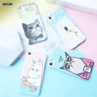 Animal Pastel Hardcase for iPhone Oppo F9 A7 A3S F1s F3 F5 F7