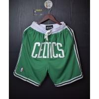 Celana Basket.BOSTON CELTICS 1985-86.HARDWOOD CLASSICS.Swingman Shorts