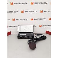 HDMI SELECTOR REMOTE 5 PORT HDMI SWITCHER 5 IN 1 FULL HD USB