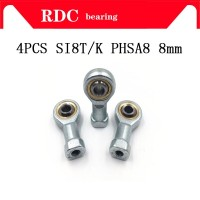 4pcs SI8T/K PHSA8 8mm High quality right hand female thread metric