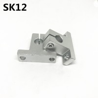 4pcs SK12 12mm linear bearing rail shaft support XYZ Table CNC