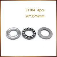 4pcs Plane thrust ball bearing 51100 51101 51102 51103 51104 51105