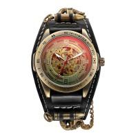 Jam Tangan Pria Antik Retro Klasik Shenhua Automatic Gaya Moge Jantan