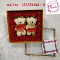 hadiah ulang tahun birthday valentine anniversary boneka beruang teddy