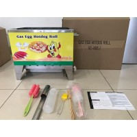 Sostel Sosis Telur Egg Sausage Hot Dog Roll Baker GAS 10 Lubang