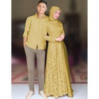 Couple Carissa Derian Baju muslim 5warna- KR