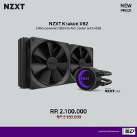 NZXT Kraken X62 (LGA2011, 1366, 1155, 1156, AM4, AMD - Water Cooling