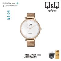 Q&Q QnQ QQ Original Jam Tangan Wanita Analog - QB57 QB57J Water Resist