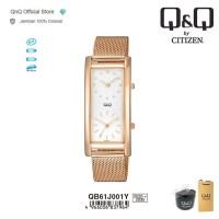 Q&Q QnQ QQ Original Jam Tangan Wanita Analog - QB61 QB61J Water Resist