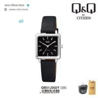 Q&Q QnQ QQ Original Jam Tangan Wanita Analog Leather - QB51 QB51J