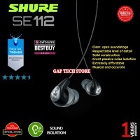 SHURE SE112 / SE 112 Sound Isolating Earphones Original Garansi Resmi