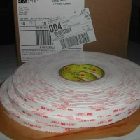 "3M VHB HEAVY DUTY DOUBLE TAPE PERMANENT 4950 PUTIH 1"" X 33 METER"