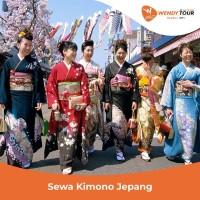 Sewa Kimono Jepang - Single