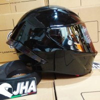 AGV Corsa R Black Glossy Solid - Euro Fit *NEW - Made in Italy