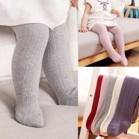 Legging Stocking Anak Polos Rajut Legging Bayi Murah Import - Putih, S
