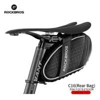 Saddle Bag Rockbros - Tas Sadel Sepeda 3D Shell C16 Original