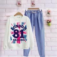 Damai fashion jakarta - setelan wanita LONDON 81 - baju murah
