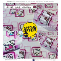 Motif Hello Kitty - Wallpaper Stiker Dinding Murah Motif GH140