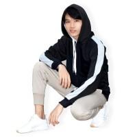 Okechuku SHANE Sweater Hoodie Polos / Sweater Polos Pria Double Hoodie