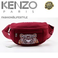 KENZO TIGER BUMBAG RED 100% AUTHENTIC!