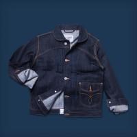 Oldblue Work Jacket Type III - 12 Oz Thick Selvedge Kaihara