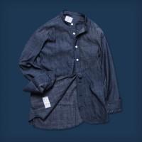 Oldblue The Vaquero Shirt II - 6 Oz Dark Indigo Irregular Chambray