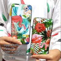 Case Flamingo Flower for Oppo F5 F3 F1s A37 A37f Neo 9 A39 A57 Plus So