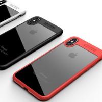 B3 Transparent Hard Back Soft TPU Frame Case Cover Iphone X 10