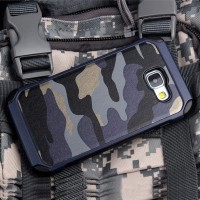 ARMY CASE Samsung S7 Flat back cover casing softcase hard bumper