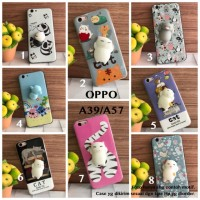Squishy softcase Oppo A39 A57 cat panda stitch