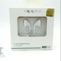 Handsfree Oppo original 100 earphone heandset HF non karet