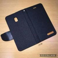 Sarung buku flip case samsung J5 pro J530 - Canvas diary zagbox