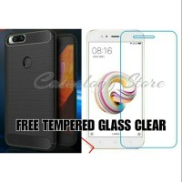 PAKET HEMAT SOFTSHELL FIBER CARBON CASE FREE TEMPERED GLASS CLEAR XIAO