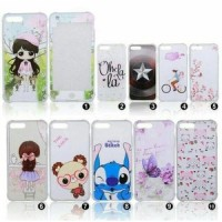 Softcase 360 Motif Tempered Glass full motif Iphone 5 5G 5S
