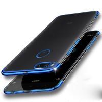 Softcase Neon Clear Xiaomi Mi A1 5X Case Silicon Casing Transparant