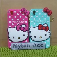 Case 4D 3D Hello Kitty Vivo Y51 Y51L Baru Karakter Soft Lucu Cute Bone