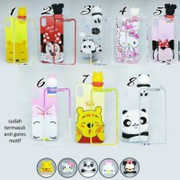 OPPO F5 CASE BONEKA 3D FREE TEMPERED GLASS CASE OPPO F5 YOUTH PRO PLUS