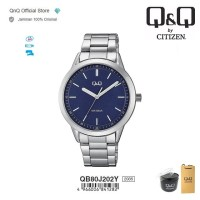Q&Q QnQ QQ Original Jam Tangan Pria Analog - QB80 QB80J Water Resist