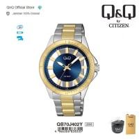Q&Q QnQ QQ Original Jam Tangan Pria Analog - QB70 QB70J Water Resist