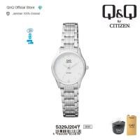 Q&Q QnQ QQ Original Jam Tangan Wanita Analog - S329 S329J Water Resist