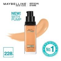 Maybelline Foundation Fit Me Pump Matte Pore-228 Soft Tan