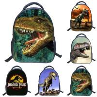 Tas Ransel Anti Hilang Motif Hewan Dinosaurus 3D untuk Sekolah