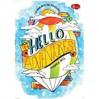 Hello Adventures Coloring Book For Travellers oleh Anya