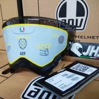 Visor AX-9 Dark Smoke - Original 100% AGV