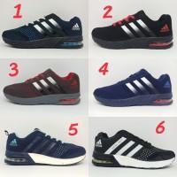 Sepatu Adidas Galaxy Import Premium Casual Sport Running Olahraga Pria