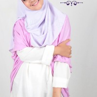 EBASTA pashmina / jilbab / hijab instan pendek warna polos Berkualita