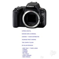 Canon Eos 200D Body Only Tanpa Bonus Harga Lebih Murah Terlaris